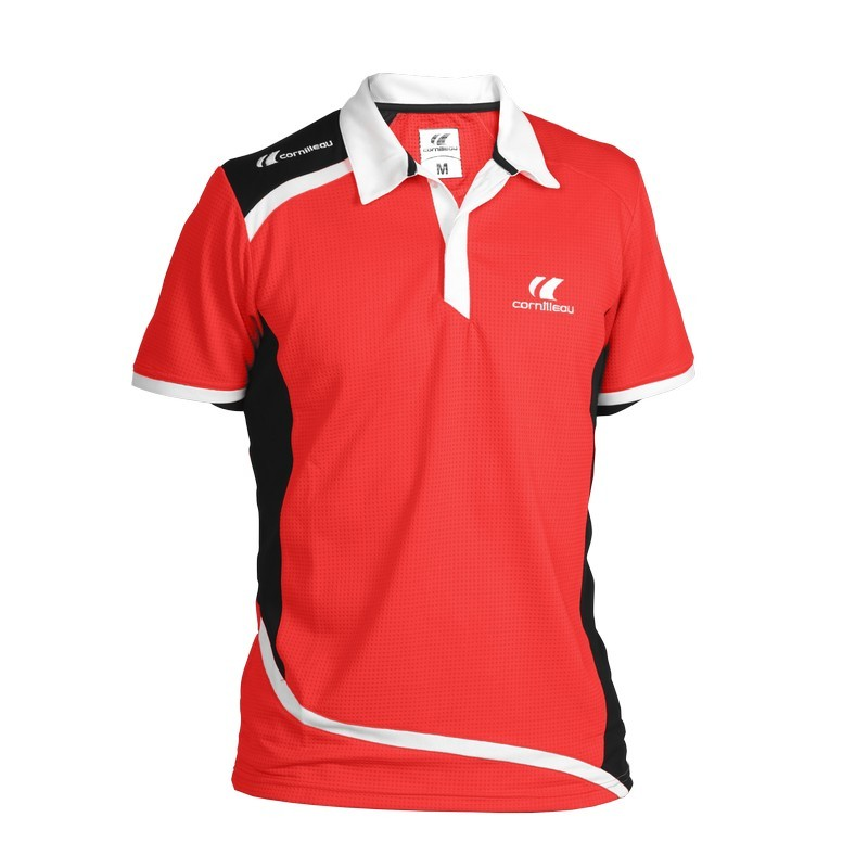 POLO CONTEST MEN - Red