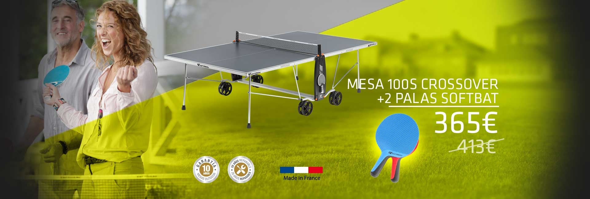 Promo Mesa 100S Crossover + Softbat DUO